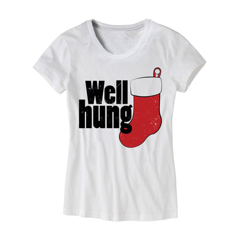 Womens Well hung T-Shirt