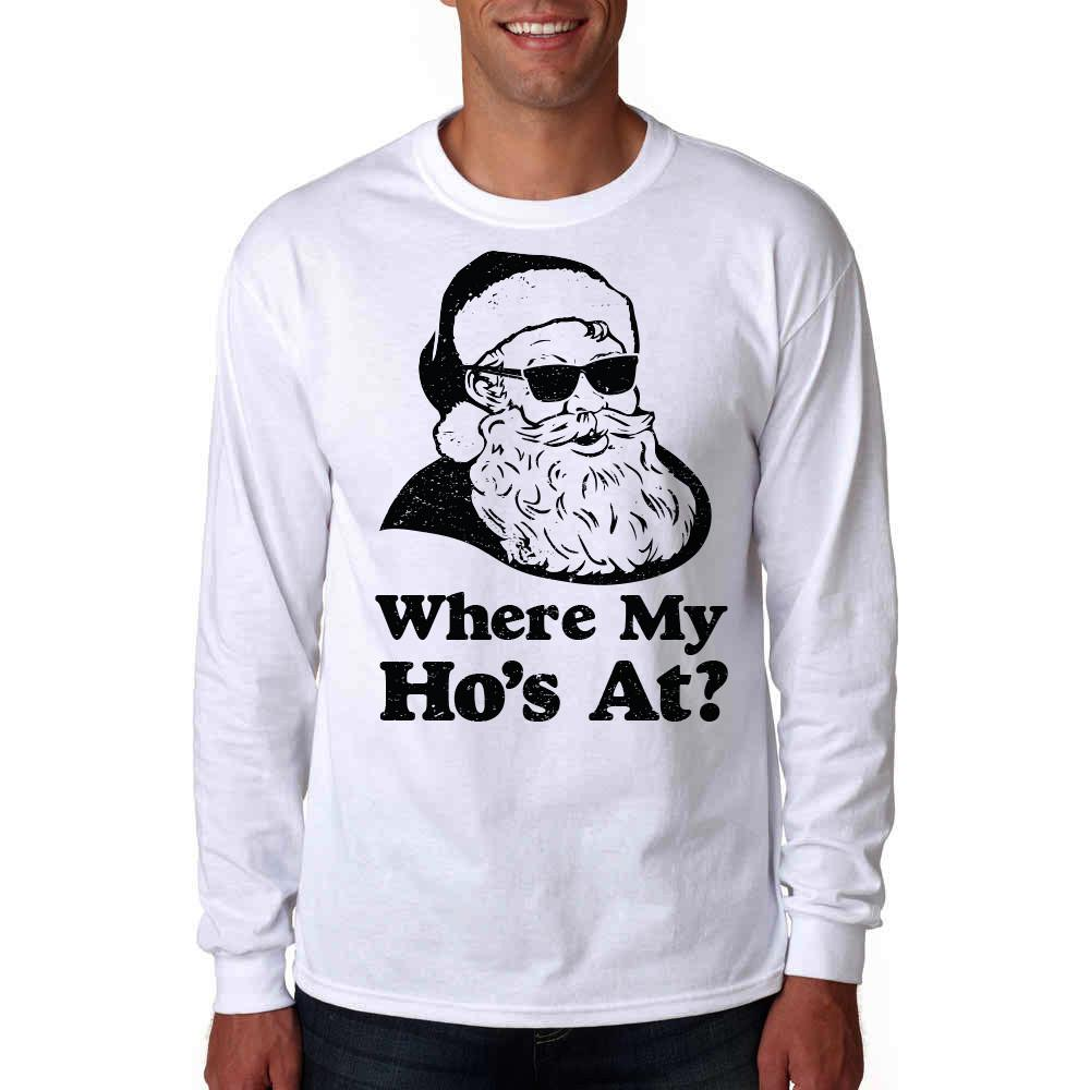 Where My Hos At Long Sleeve Shirt