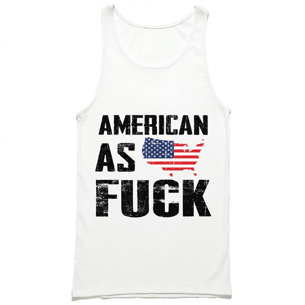 American As Fuck USA Tank Top