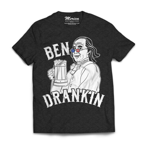 Ben Drankin Shirt charcoal gray