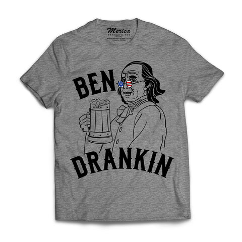 Ben Drankin Shirt heather gray
