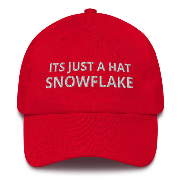 Its Just A Hat Snowflake Red Trump Hat Merica Supply Co