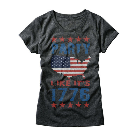 Womens Party Like It's 1776 Shirt