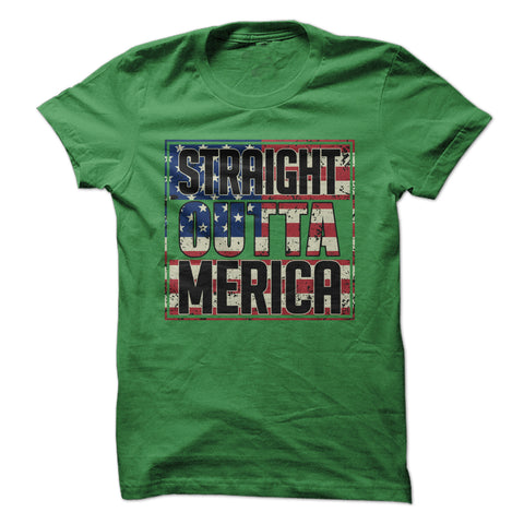 Straight Outta Merica Shirt