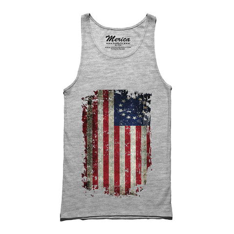 Betsy Ross American Flag Tank Top