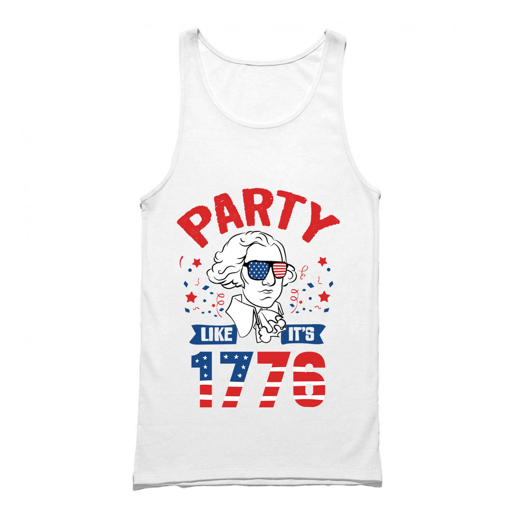 dfc39ed2 Party Like Its 1776 Tank Top - 4th of July Tank Top – Merica Supply Co.