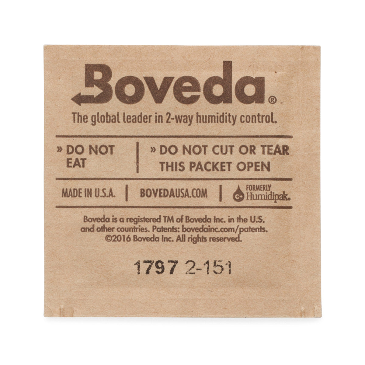 Boveda 1g 20 COUNT PACK