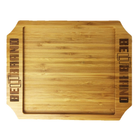 Bamboo Rolling Trays, Large