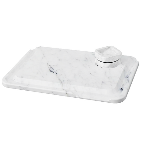 Krush Marble Rolling Tray & Grinder Set