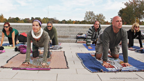 Yoga at the Grand Basin