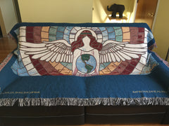 "The Healing Energy Blanket - 80"" x 60"" Queen-Size Blanket"