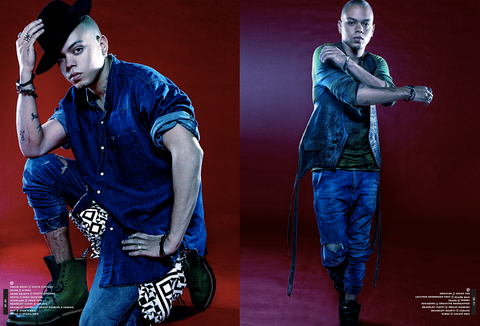EVAN ROSS FOR RUNWAY MAGAZINE
