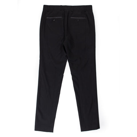 Curved Trouser (Dark Grey)