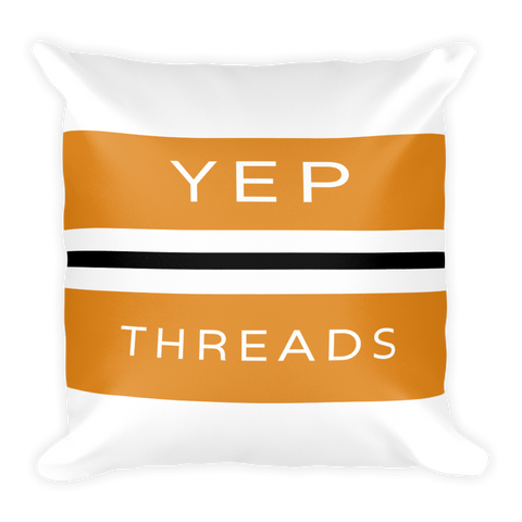 yep Threads Pillow