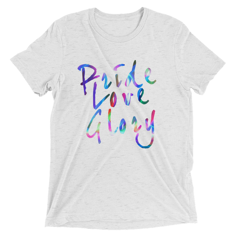 New! Pride Love Glory Rainbow