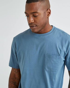 Load image into Gallery viewer, RICHER POORER // Pima Crew Pocket Tee // Available in 5 Colors