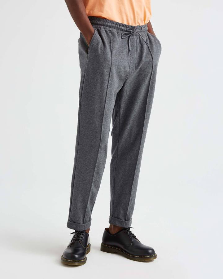 Load image into Gallery viewer, RICHER POORER // TERRY TROUSER // CHARCOAL HEATHER GREY
