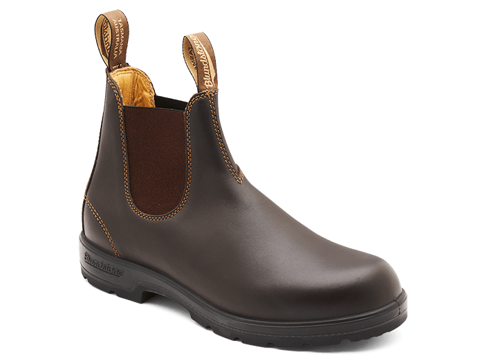 Load image into Gallery viewer, BLUNDSTONE Classic 550 Chelsea Boots // Walnut Brown