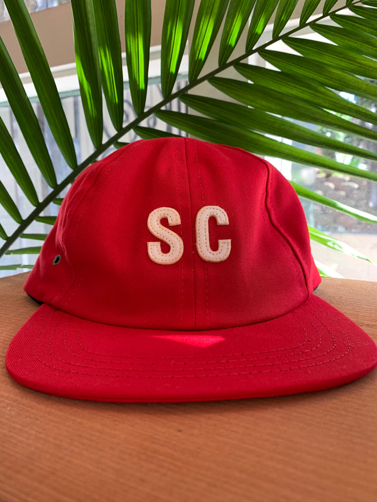 NORTH // SAN CLEMENTE SIX PANEL HAT // Red