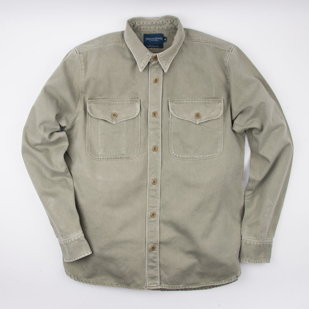 FREENOTE CLOTH // UTILITY SHIRT // OLIVE