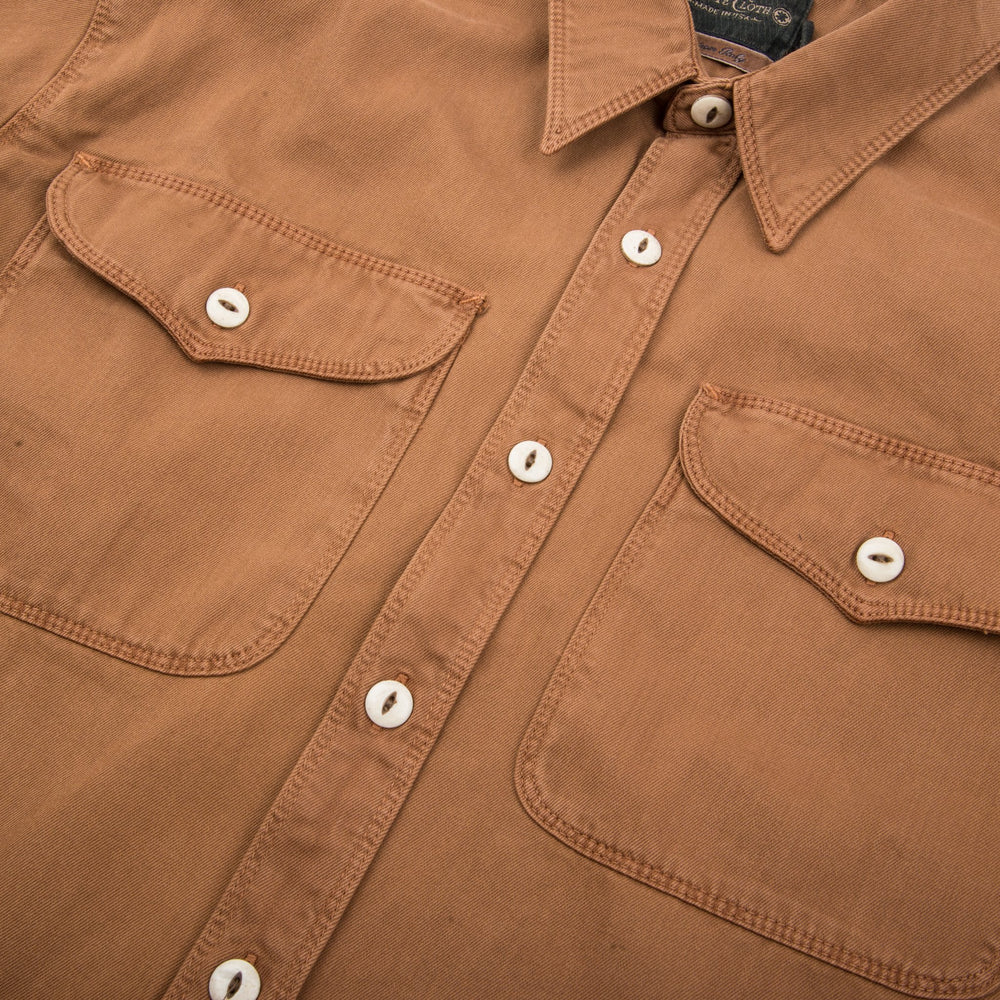 Load image into Gallery viewer, FREENOTE CLOTH // UTILITY SHIRT // TOBACCO