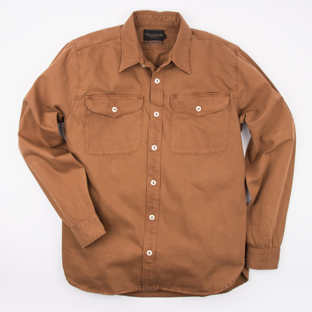FREENOTE CLOTH // UTILITY SHIRT // TOBACCO