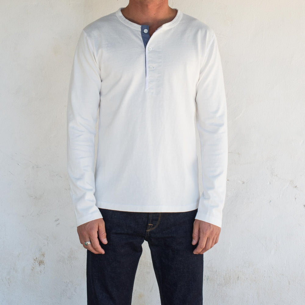 Load image into Gallery viewer, FREENOTE 13 oz. L/S Henley // Available in 5 Colors