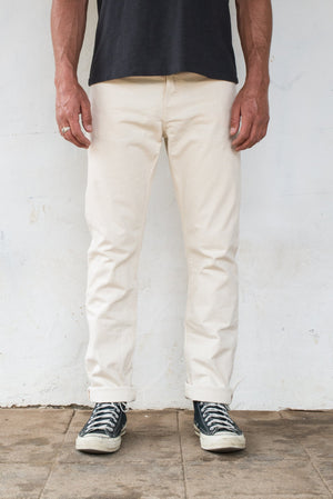 Load image into Gallery viewer, FREENOTE CLOTH // RIOS SLIM STRAIGHT 11oz. // NATURAL CANVAS