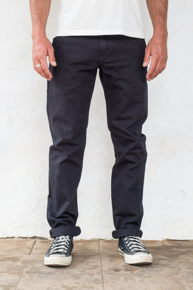 Load image into Gallery viewer, FREENOTE CLOTH // Workers Chino Slim Straight // Black