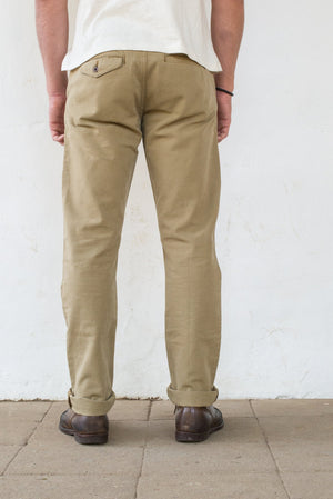 Load image into Gallery viewer, FREENOTE CLOTH Workers Chino Slim Fit // Khaki