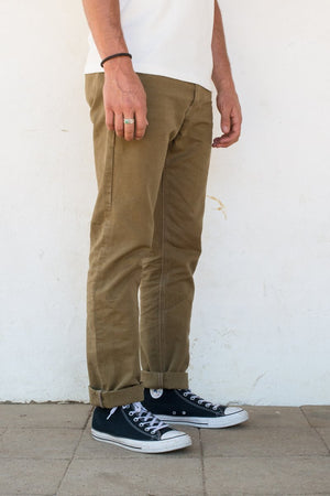 Load image into Gallery viewer, FREENOTE CLOTH Workers Chino Slim Fit // Tan