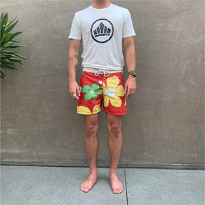 Load image into Gallery viewer, SPORT OF KINGS // FOUR DOOR BOARDIES // RED