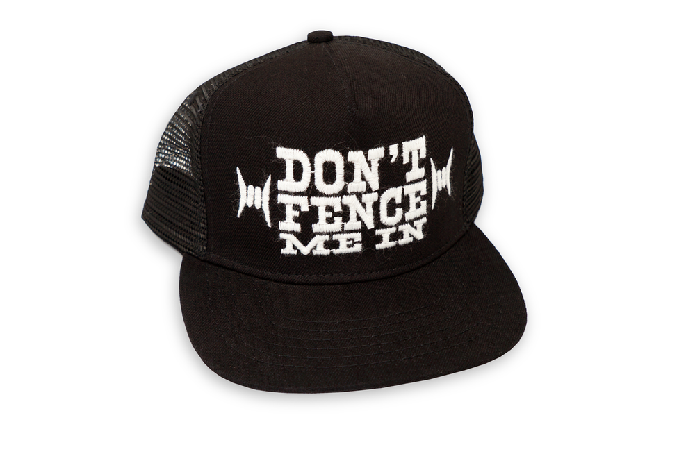 "Load image into Gallery viewer, LORRAINE BY NAME // ""Don't Fence Me In'' Trucker Cap"