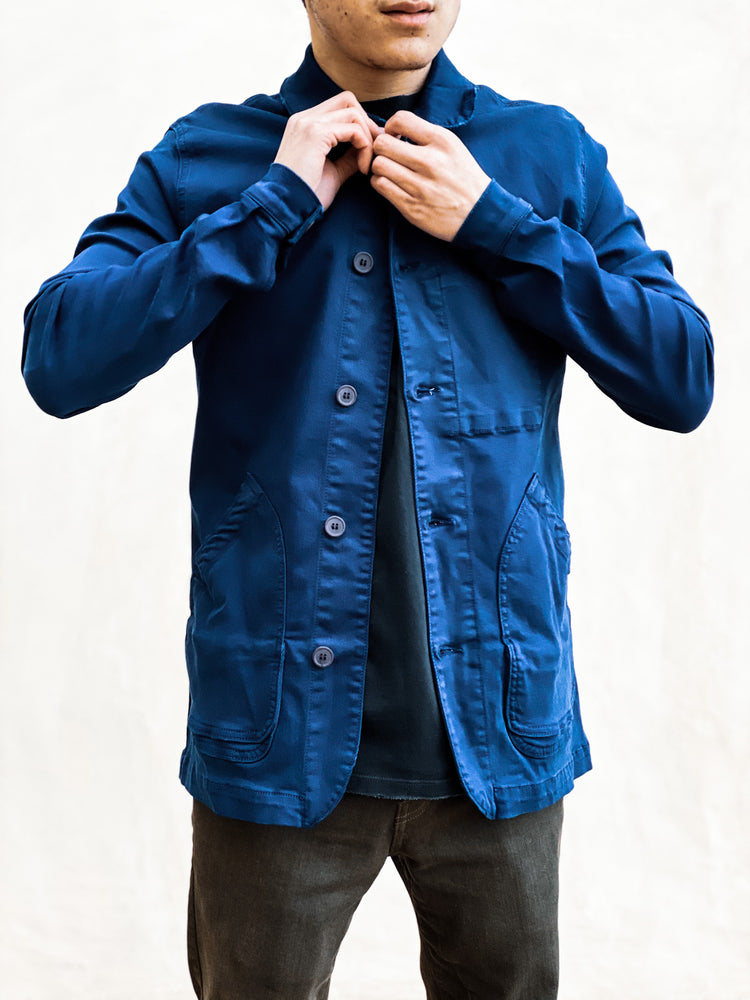 BOWIE & CO // Miki Japanese Jacket // Dark Blue