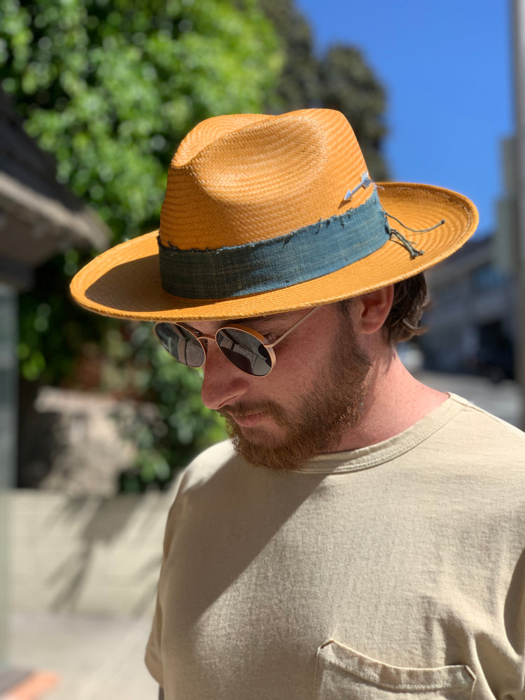 NORTH BY HAMPUI HATS // STRAW PANAMA HAT // NATURAL