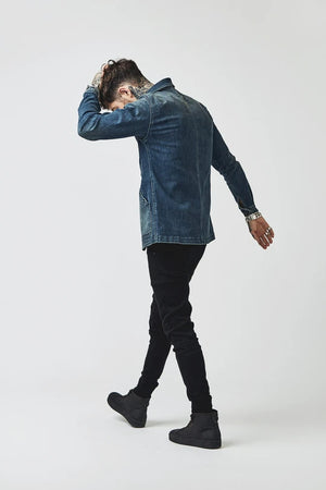 Load image into Gallery viewer, BOWIE & CO // Miki Japanese Jacket // Denim