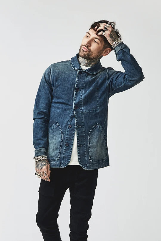 BOWIE & CO // Miki Japanese Jacket // Denim