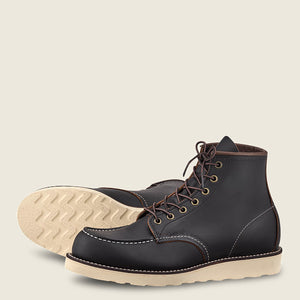 Load image into Gallery viewer, RED WING SHOES // Classic Moc // Black