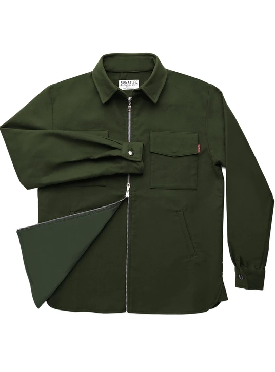 Load image into Gallery viewer, Signature Innovation Group // Shirt Jacket // Green