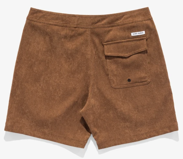 Load image into Gallery viewer, BANKS JOURNAL // SLOW BOARDSHORT // TOFFEE CORDUROY