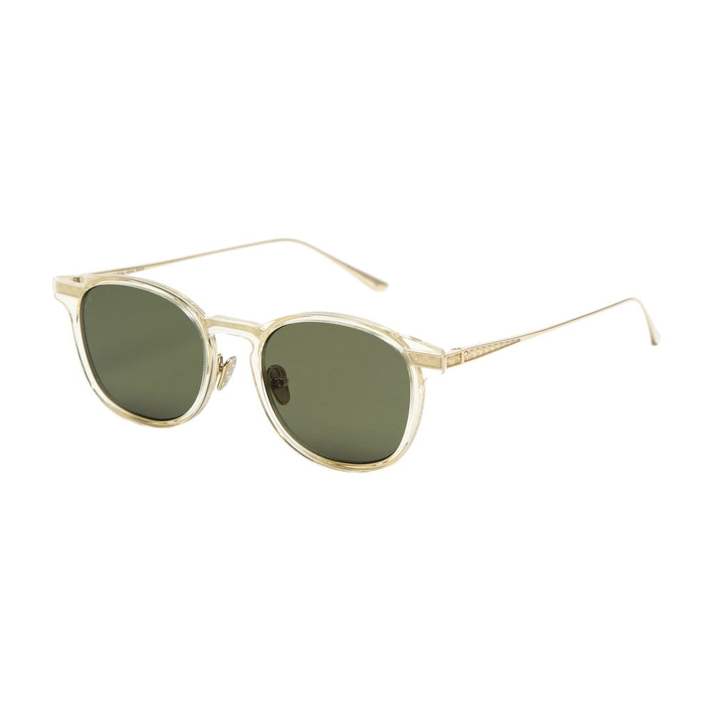 LEISURE SOCIETY // SUTTER // CHAMPAGNE/18K GOLD (GREEN LENS)