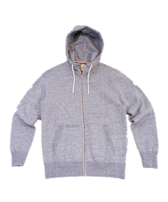 ALL VIEW Everyday Zip Hoodie // Light heather Grey