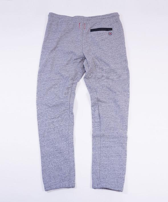 ALL VIEW French Terry Weekender Pants // Light Heather Grey