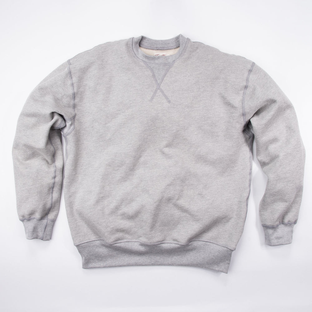 FREENOTE Deck Sweatshirt // Heather Grey