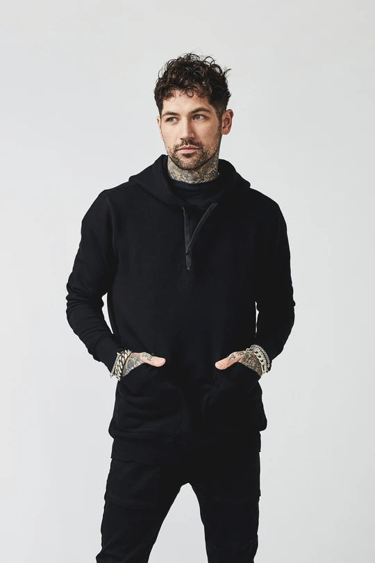 BOWIE & CO // Miyo Pullover // Ink Black