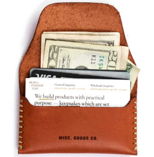 Load image into Gallery viewer, MG CO. Leather Wallet // Available in 2 Colors