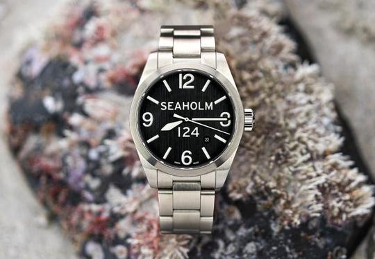 Load image into Gallery viewer, SEAHOLM // CLARK LIMITED EDITION WATCH