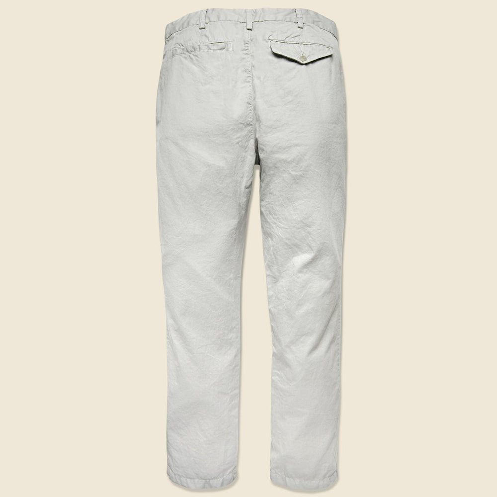 Load image into Gallery viewer, SAVE KHAKI UNITED Poplin Summer Chino // Cement