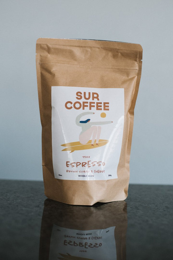 SUR COFFEE 10oz Whole Bean // Espresso Brown Sugar & Cherry