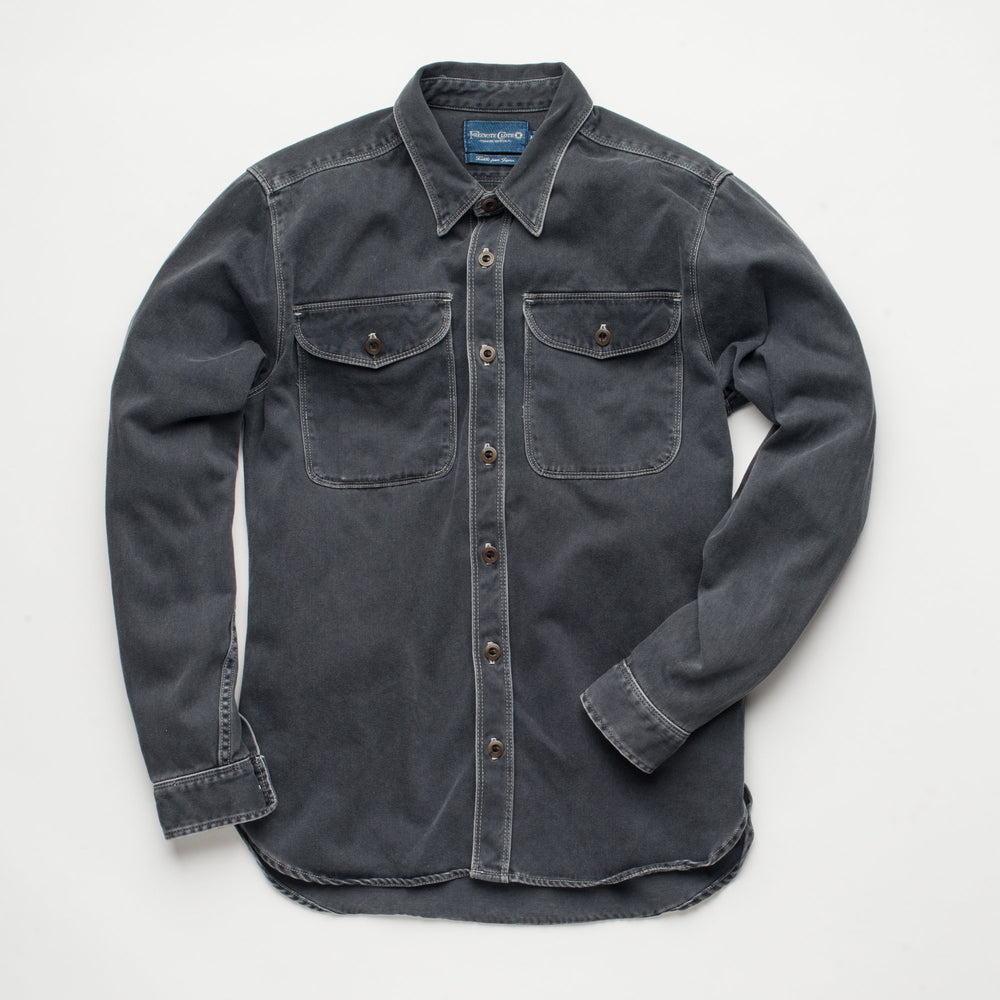FREENOTE Utility Shirt // Charcoal